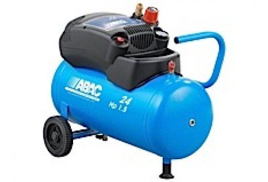 ABAC 1,5 - 24L  Stempelkompressor  - oliefri