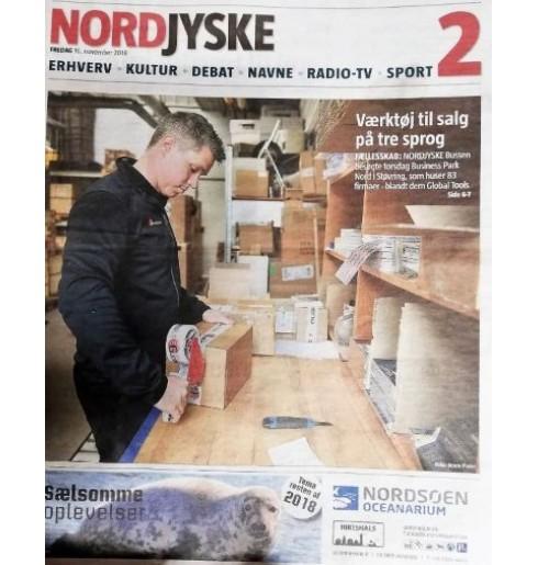 Nyhed: Sådan kom Globaltools i Nordjyske