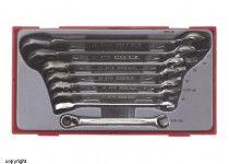 Ringgaffelskraldenøgler i sæt TT6508R Teng Tools