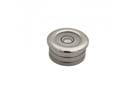 Dåselibelle Ø20 mm. forkromet m. indbygningsslidser (type 1)