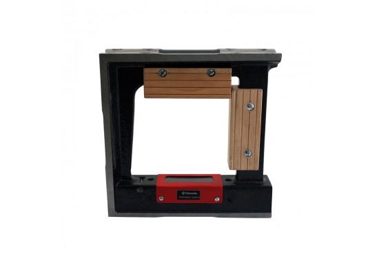 Rammevaterpas med magnet 200x200 mm x 0,02 mm/m