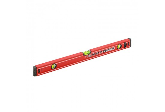 KAPRO SPIRIT vaterpas 100 cm med magneter og 3 acryl-libeller