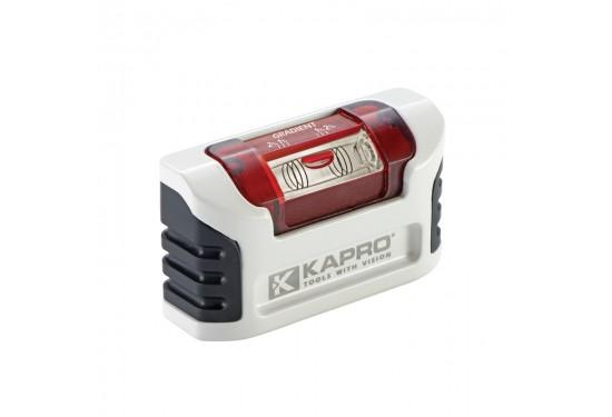 KAPRO SMARTY 946 Mini vaterpas 10 cm med OPTIVISION, magnet og bælteclips