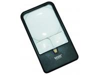 Lup Vogel med 3 linser og LED lys