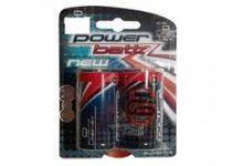 Batteri D Alkaline 1.5V 2-pk
