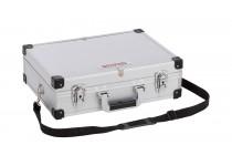 Aluminiums kuffert sølv 420x300x125 mm