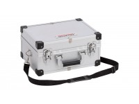 Aluminiums kuffert sølv 320x230x160 mm