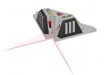 Laser vaterpas til fliser - 7 meter