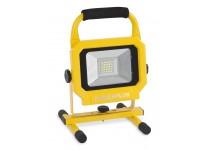 LED Arbejdslampe 20 watt - genopladelig