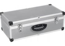 Aluminium kuffert til 80 cd'er