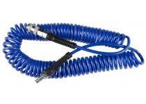 PU spiralslange med koblinger