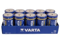 Varta Industrial High Energy - D - 10pk.
