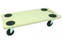 Møbelhund 200 kg. - PVC Hjul