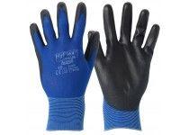 Hyflex handske PU blå