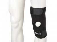 Knæbeskyttelse knæ støtte åben klappe