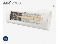 AIR+ 2000 varmelampe uden lys. ZeroGlare teknologi.