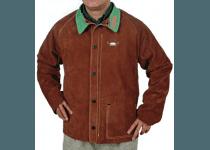 Brun lava jakke Weldas