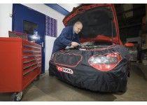 Frontafdækning / frontbeskyttelse til køretøj