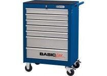 BASIC værkstedsvogn blå/sølv