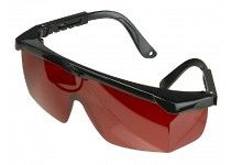 Røde laserbriller fra Luna