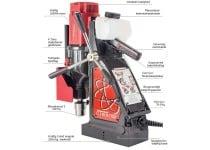 Rotabroach Magnetboremaskine Element E100 , kernebor max. Ø100 mm