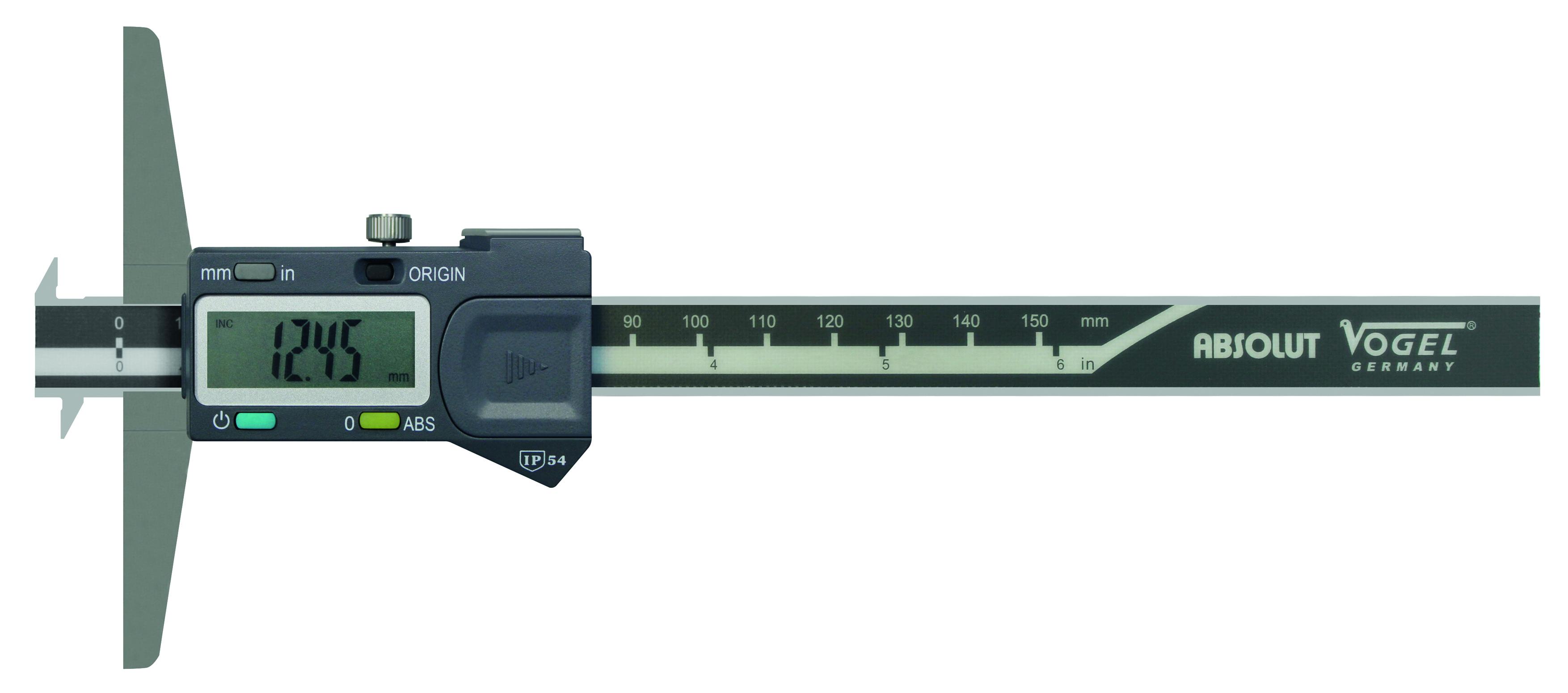 Dybdemål Vogel digitalt 150mm - Type C