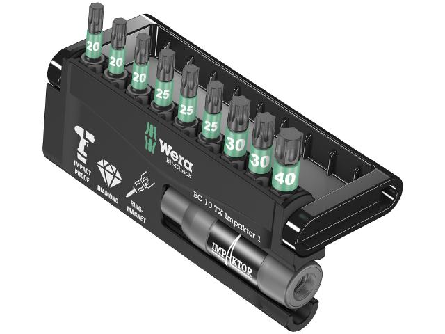 Image of   Bitskassette Wera Impaktor 8767-9/IMP DC