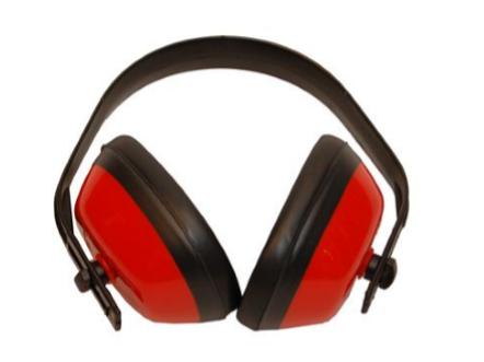 Høreværnmedplastbøjle
