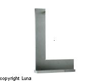 Image of   FODVINKEL Limit 300X200 - DIN 875/2- Præcisionsudførelse
