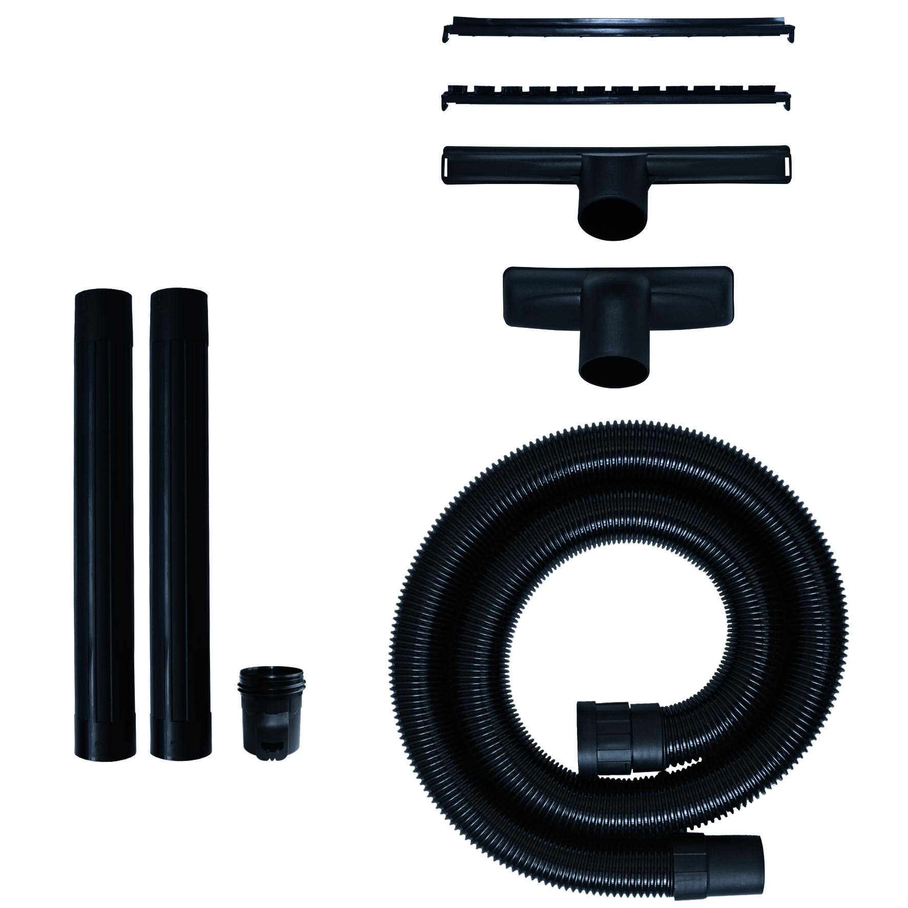 Tilbehørssæt med 5 dele, 64 mm, tilbehør til våd-/tørstøvsug