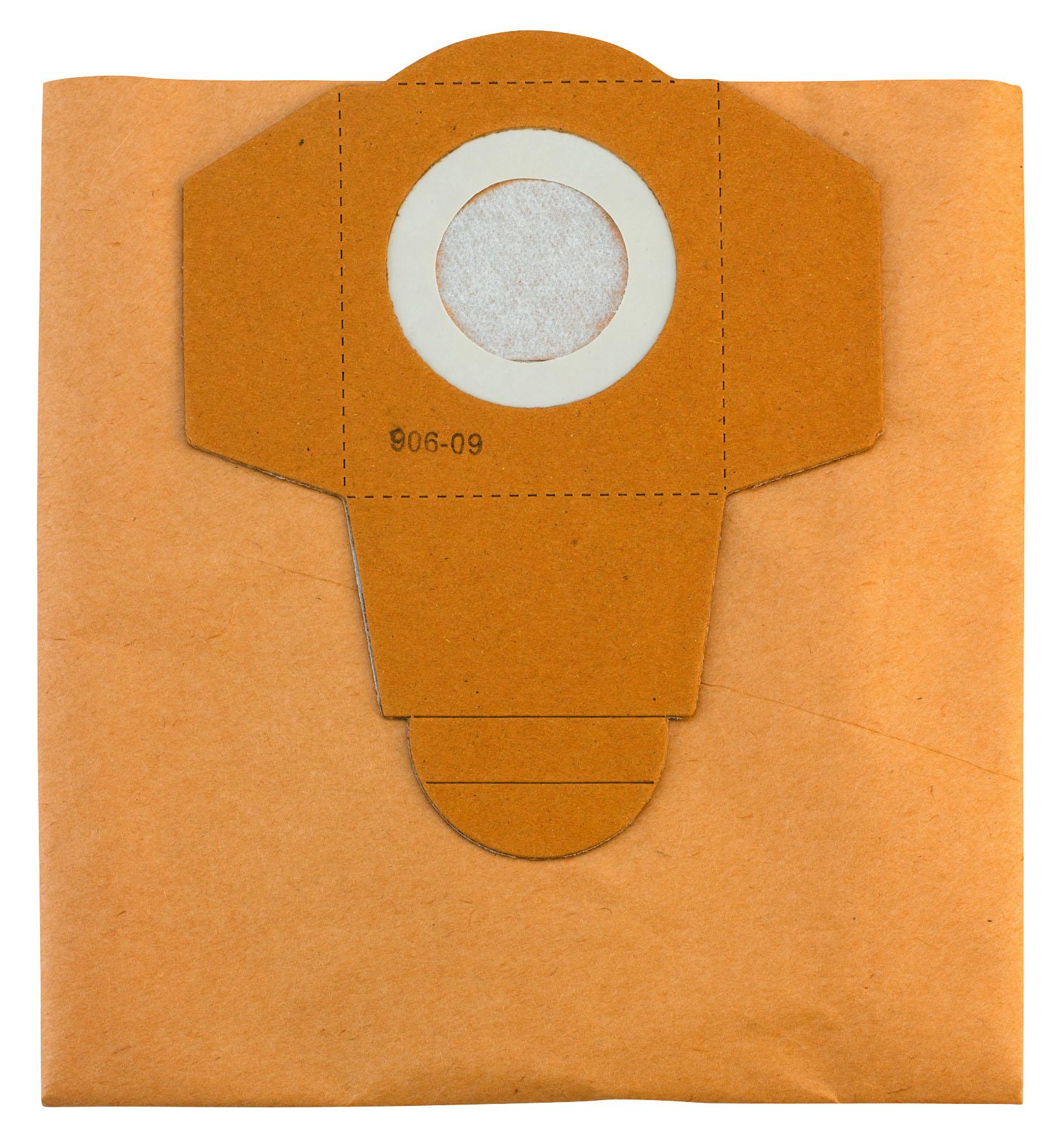 Støvposefilter 25 l ( 5 stk.), tilbehør til våd-/tørstøvsuge