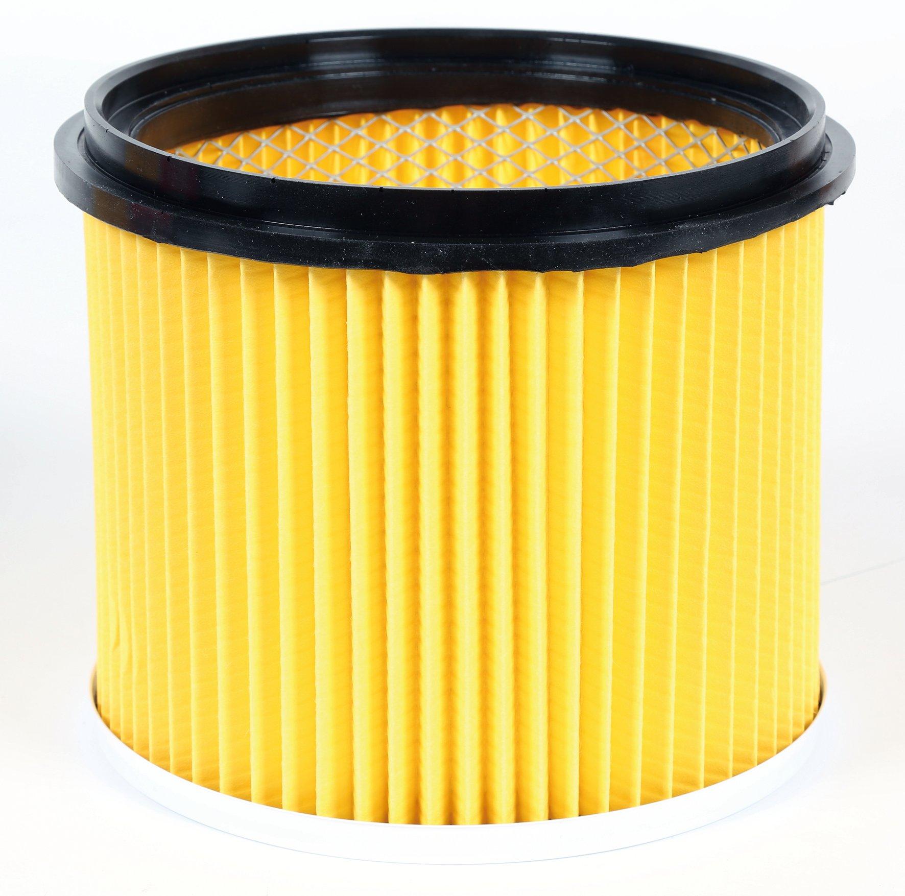 Plisseret filter, tilbehør til våd-/tørstøvsuger