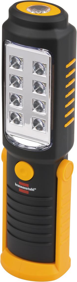 LED lommelygte 8+1 med 3 x AA batterier