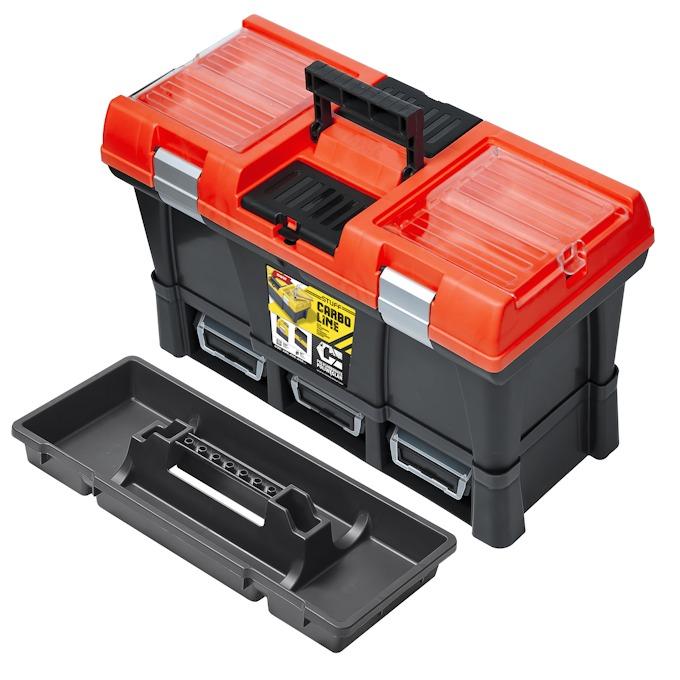 Værktøjskasse med 3 x ERGO bokse