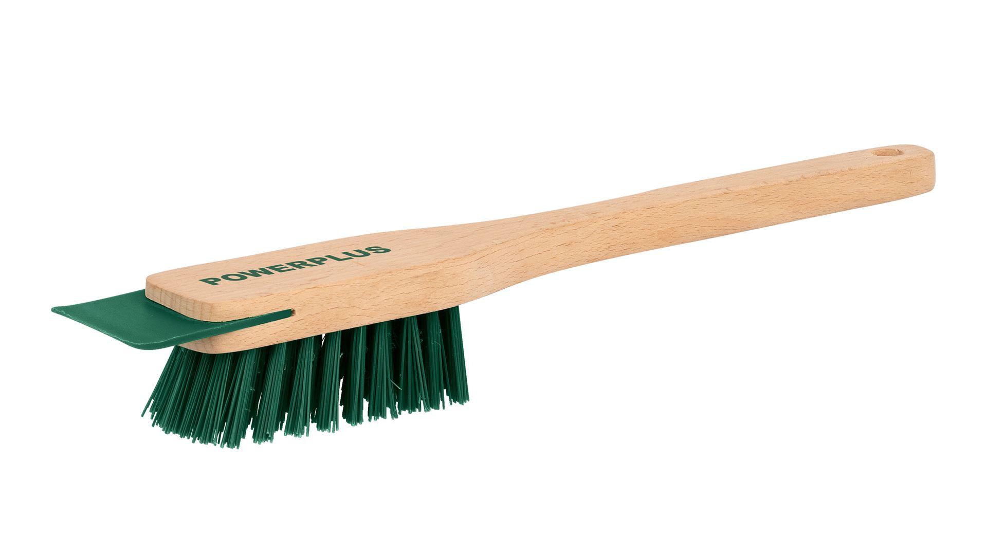 Rengøringsbørste til plæneklipper