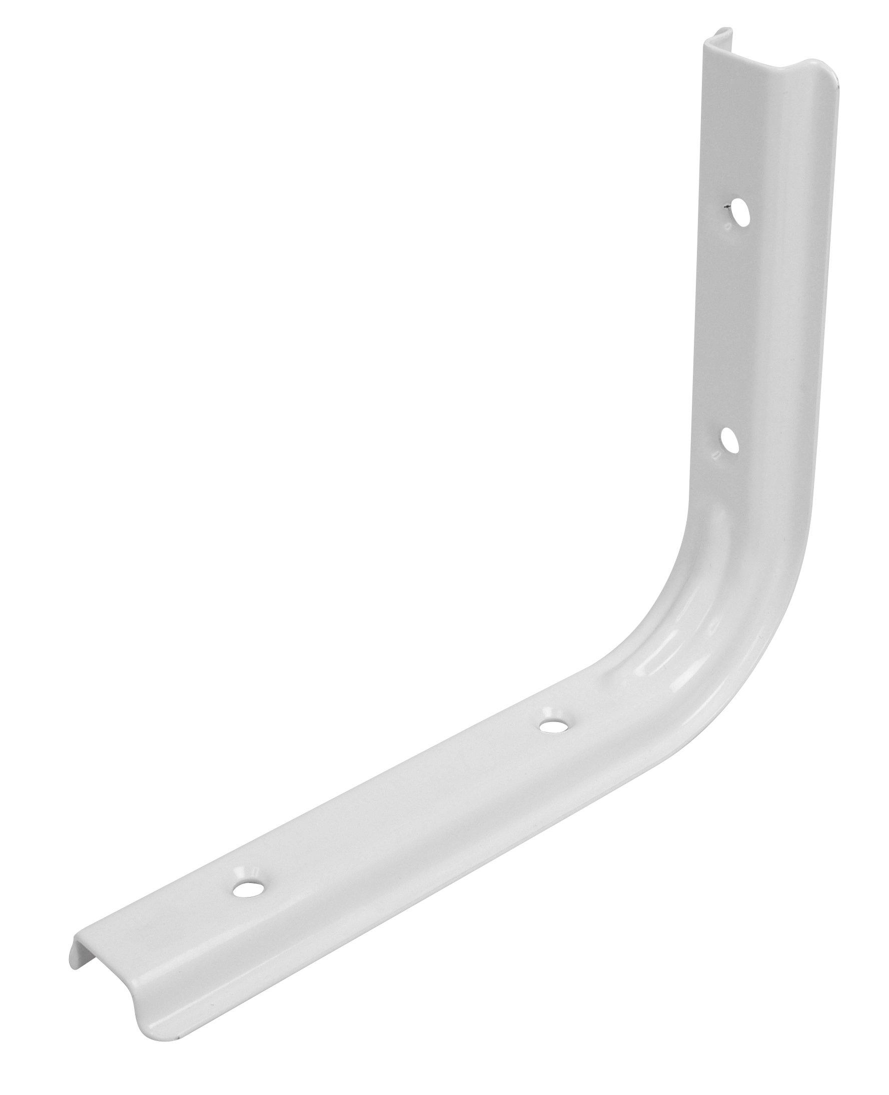 Hyldeknægt U-profil 125x150 mm. - hvid