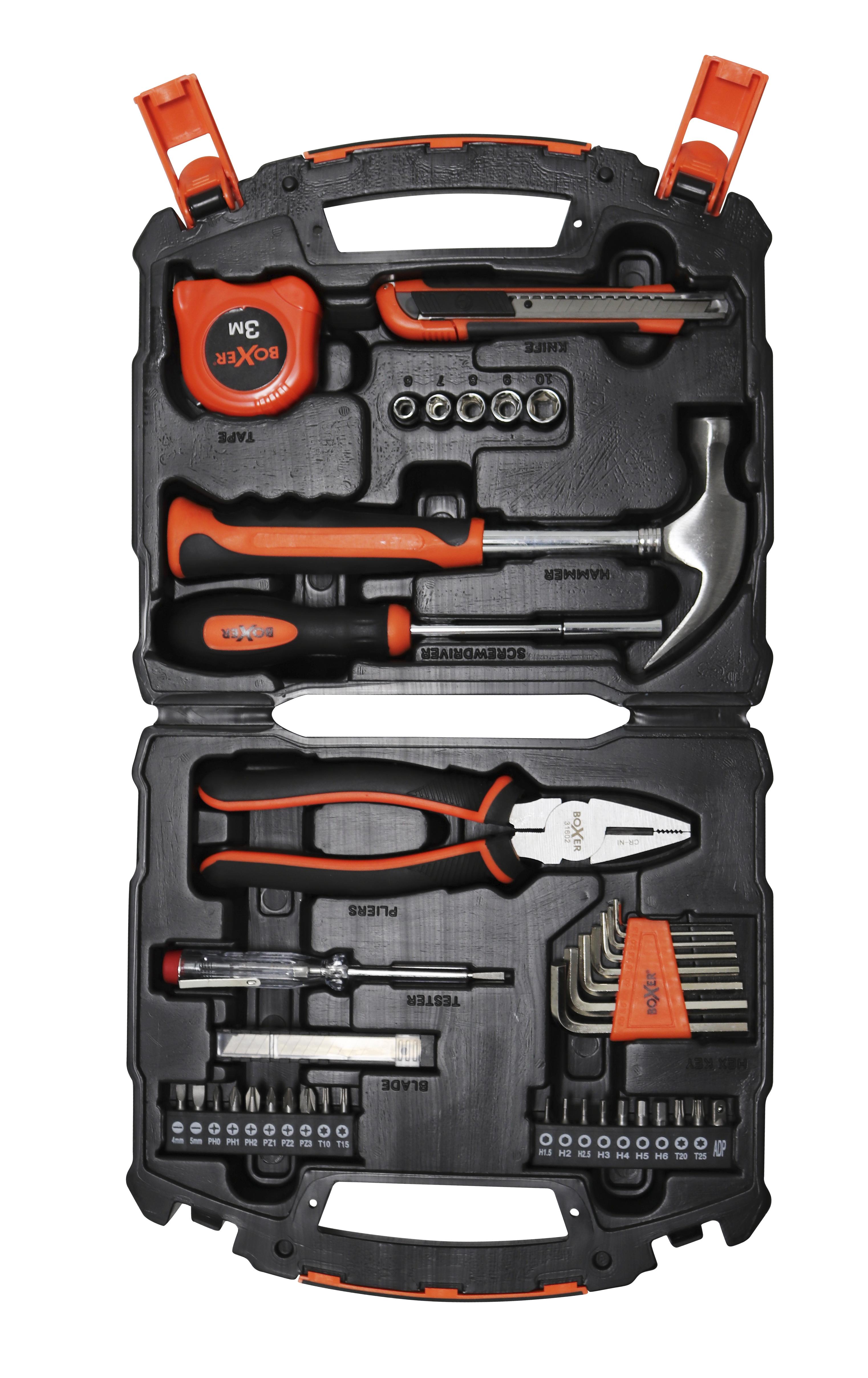 Værktøjssæt - 50 dele STARTER kit