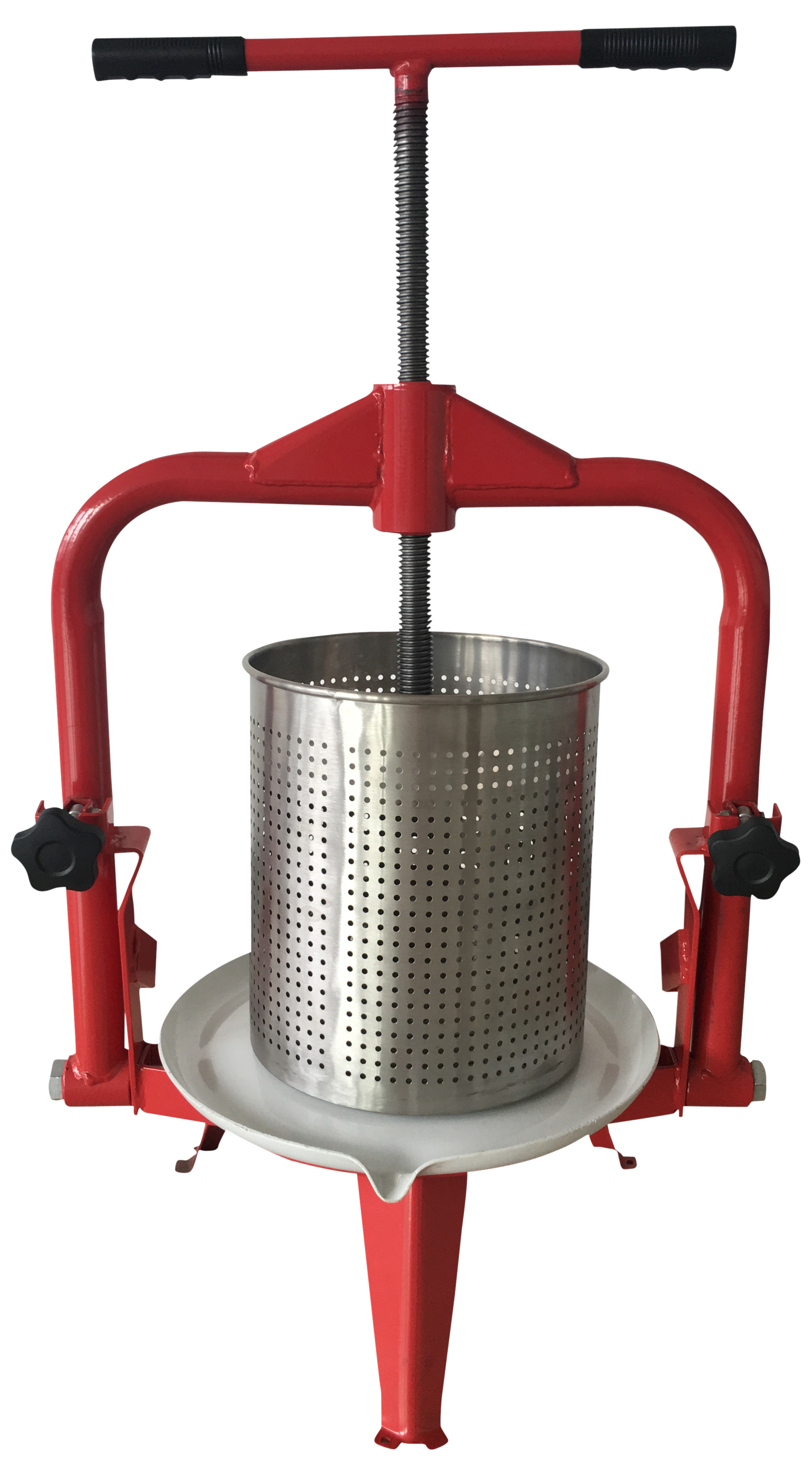 Frugtpresser - Rustfri - 9 L.