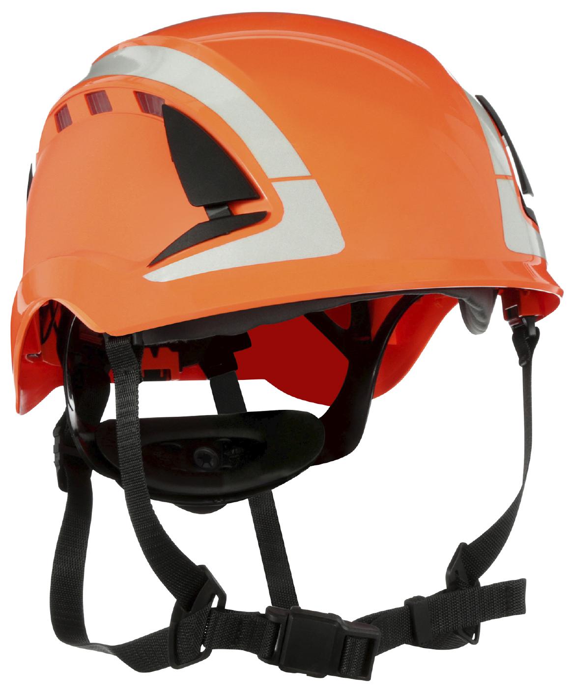Image of   Sikkerhedshjelm 3M X5000V-CE Orange