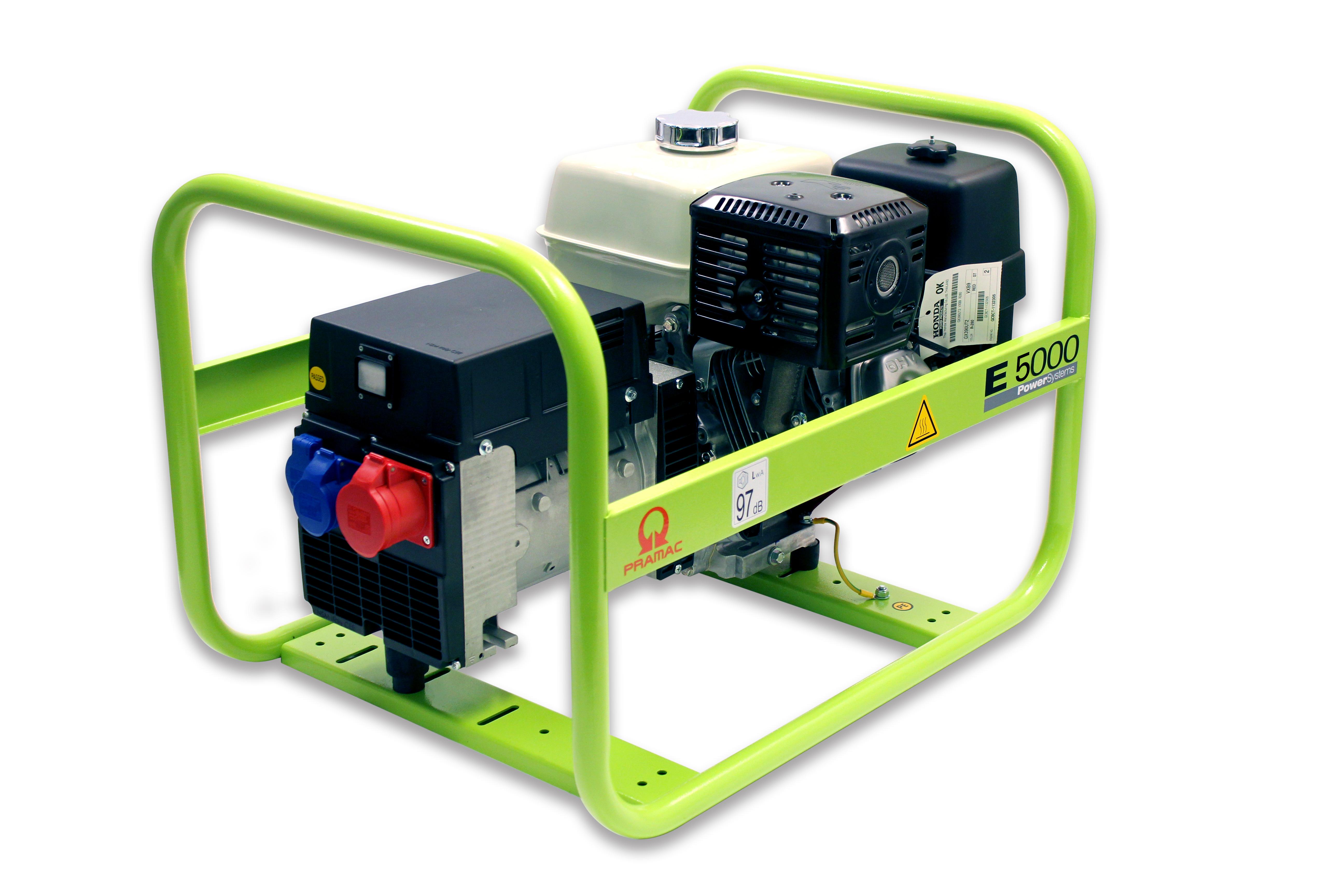 Image of   Generator Pramac E5000THHPI