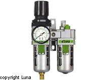 Image of   Filterregulator og tågesmører Luna 1/2