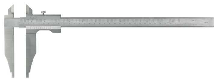 Værkstedsskydelære 300x125mm