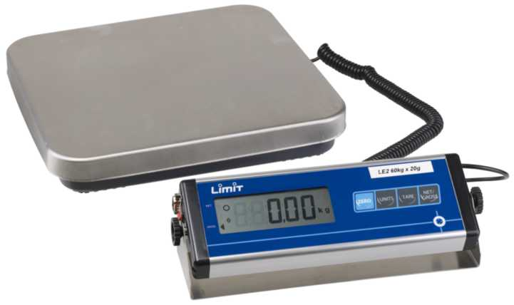 Image of   Pakkevægt dig. le3-150 150kg