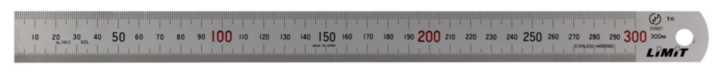 Stålskalaer blændfri 8427-3000
