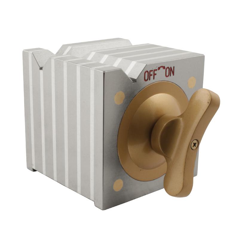 Magnetblok 100x100x100 mm med on/off funktion (50kg