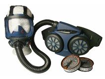 Image of   Åndedrætspakke inkl. tilbehør til Asbest