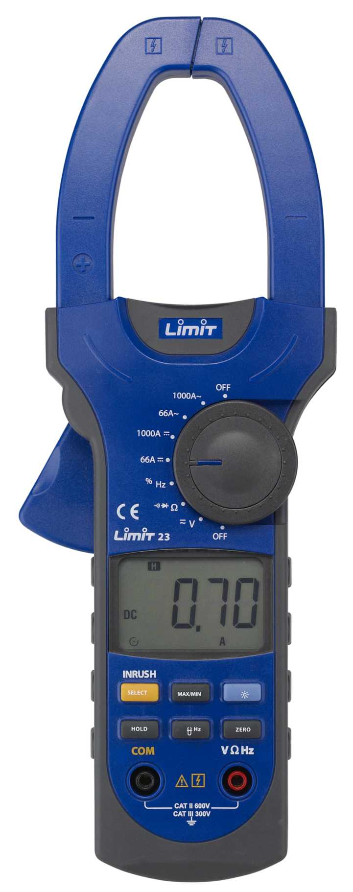 Tangamperemeter limit 23
