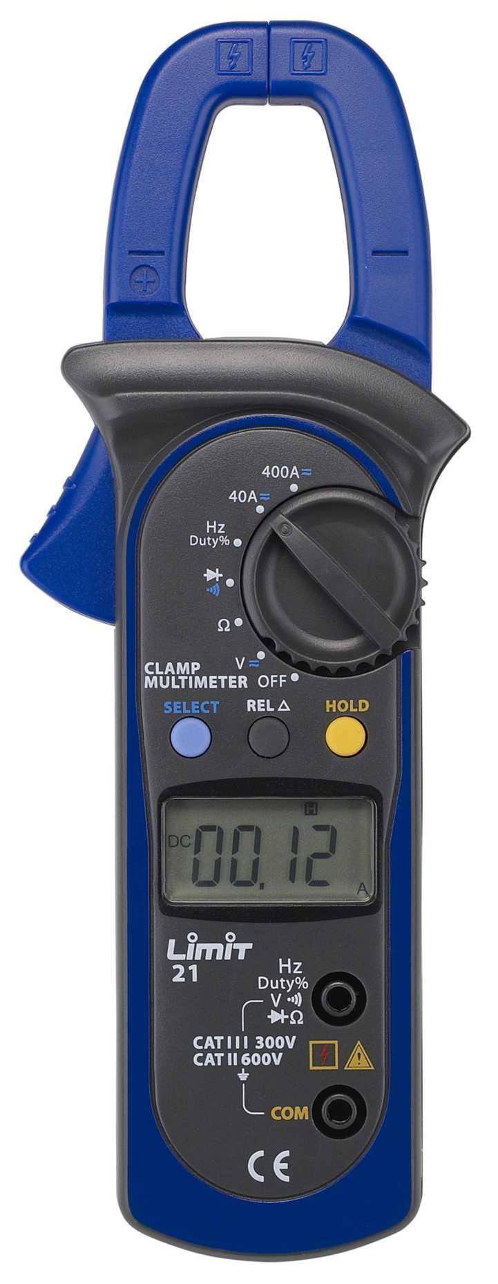 Tangamperemeter limit 21