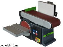 Kombi båndsliber og skivepudsemaskine Luna BBD 100