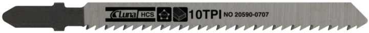 Stiksavklinge tp75x8x1,5 10t(5